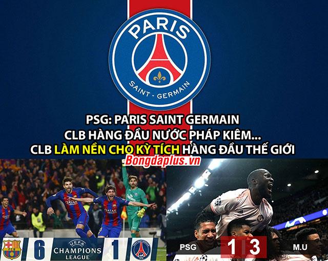 Ảnh chế: PSG sinh ra là để làm nền cho kỳ tích