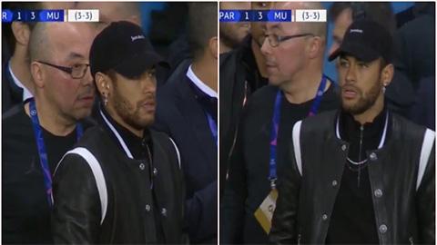 Neymar hoảng loạn, chửi bới VAR lẫn trọng tàisau thất bại của PSG