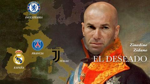 Real, PSG, Chelsea và Juve tranh nhau 'thống chế' Zizou