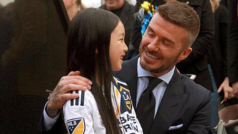 David Beckham đã xuất hiện tại Việt Nam