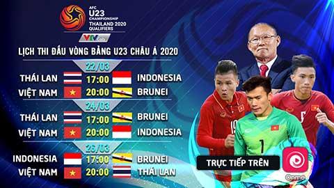 U23 Việt Nam tự tin quyết thắng trực tiếp Vòng loại U23 Châu Á trên Onme