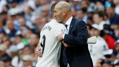 Zidane trở lại Real: Như chưa hề có cuộc chia ly