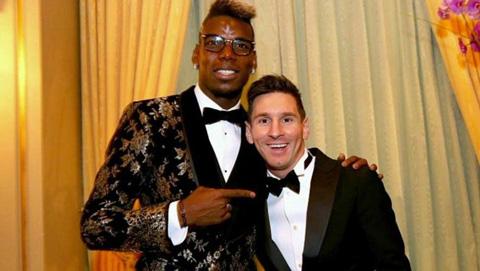 Pogba: 'Messi vượt xa phần còn lại'