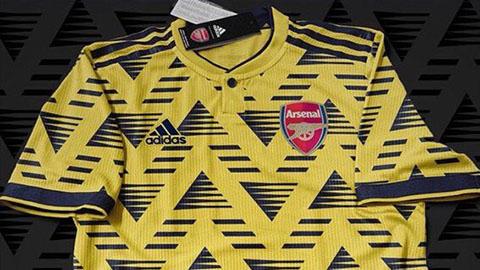 Rò rỉ áo đấu của Arsenal mùa giải 2019/20