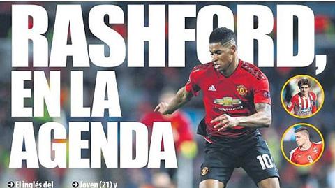 Barca thêm Rashford vào danh sách thay Suarez