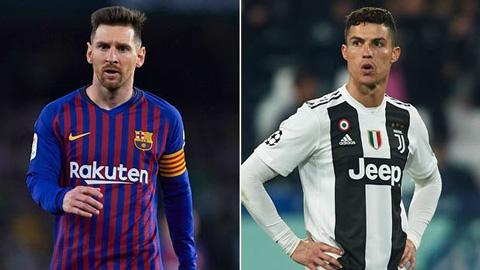 Nếu không có penalty, số bàn thắng của Messi và Ronaldo là bao nhiêu?