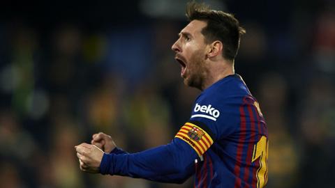 Messi lại được công nhận bàn thắng đá phạt kiểu Panenka