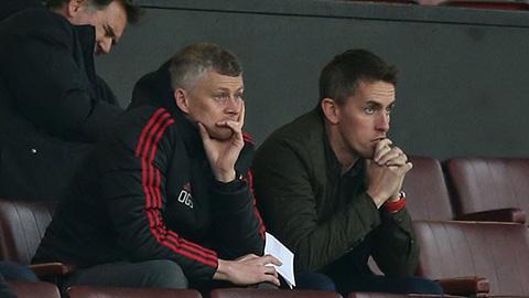Solskjaer quan sát Rojo thi đấu trong màu áo... U23 M.U