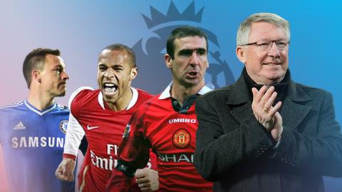 CĐV bình chọn đội hình hay nhất kỷ nguyên Ngoại hạng Anh