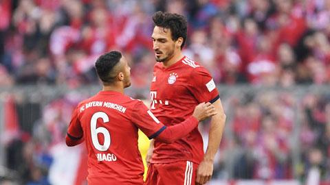 Bayern đại thắng Dortmund: Câu trả lời của Hummels