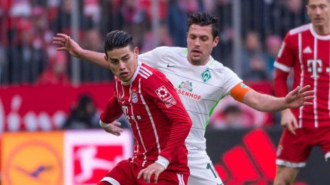 Bayern Munich gặp đối thủ dễ chịu ở bán kết cúp Quốc gia Đức