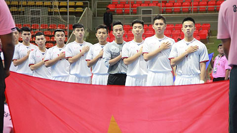 U20 futsal Việt Nam nằm ở nhóm hạt giống số 2 VCK châu Á