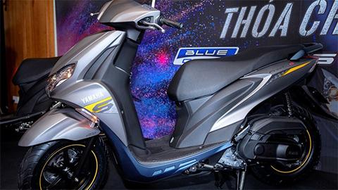 Yamaha tung ra mẫu xe ga giá rẻ 'siêu ngầu' động cơ 125cc, quyết đấu Honda Air Blade 2019