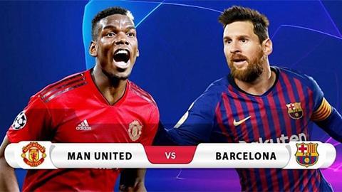 Soi kèo, dự đoán tỷ số Champions League ngày 10/4: 'Đại chiến' Man United vs Barca