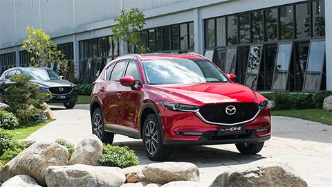 Mazda CX-5, Mazda 3, Mazda 6 bất ngờ giảm giá mạnh trong tháng 4