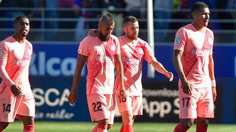 5 điểm nhấn sau trận hòa 0-0 của Barca trước Huesca