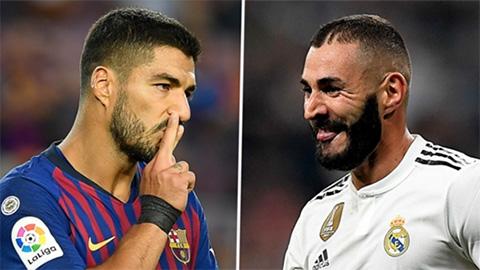 Đánh giá chất lượng hàng công Barca và Real qua những con số