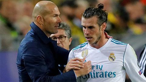 Zidane giải thích lý do Bale phải dự bị