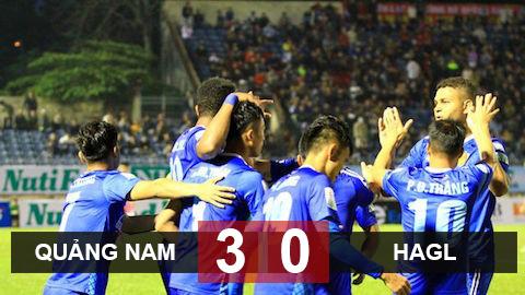 Quảng Nam 3-0 HAGL: Xứ Quảng có trận thắng đầu tiên của V.League 2019