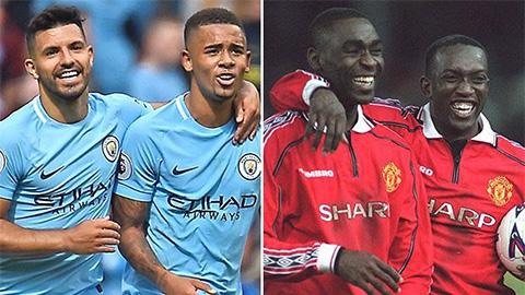 M.U 'ăn 3' năm 1999 vs Man City hiện tại: Ai xuất sắc hơn?