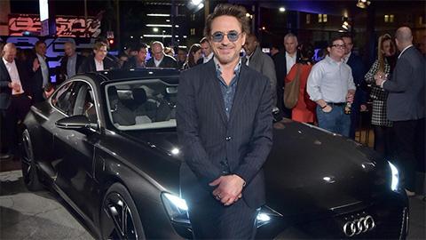 Bộ sưu tập xe 'siêu khủng' của Iron Man ngoài đời thật