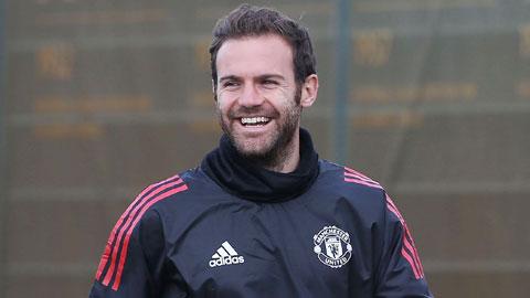 Juan Mata đi cho thỏa chí tang bồng