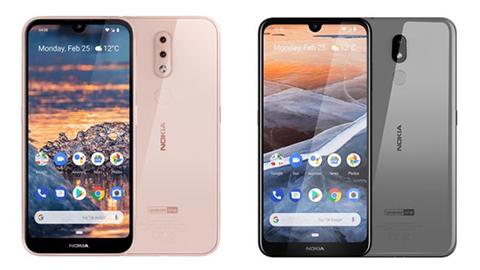 Nokia 4.2, Nokia 3.2 giá rẻ, pin 4000mAh sắp ra mắt