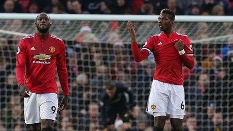 M.U sẵn sàng bán cả Pogba lẫn Lukaku