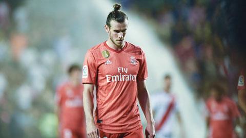 Gareth Bale lại gây thất vọng