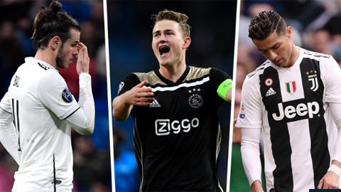 Giá trị đội hình Ajax như thế nào khi đứng cạnh Real, Barca hay Juve?
