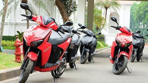 Xe máy điện đẹp như Honda Vario, giá hơn 38 triệu đồng