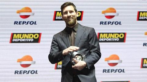 Messi nhận giải thưởng đặc biệt chưa từng có trong đời