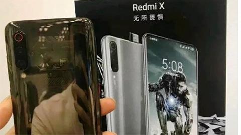 Xiaomi Redmi X 'chất ngất' với chip Snapdragon 855, camera 48MP, pin 4000mAh
