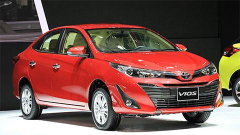 Toyota Wigo, Toyota Vios, Yaris giảm giá mạnh tại VN trong tháng 5/2019