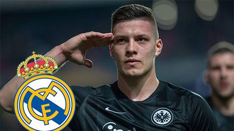 Chi 60 triệu euro, Real mua xong Jovic