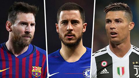 Chỉ Messi hoặc Ronaldo mới thay thế được Hazard ở Chelsea