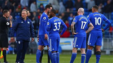Thua Crystal Palace, Cardiff theo chân Fulham và Huddersfield xuống hạng
