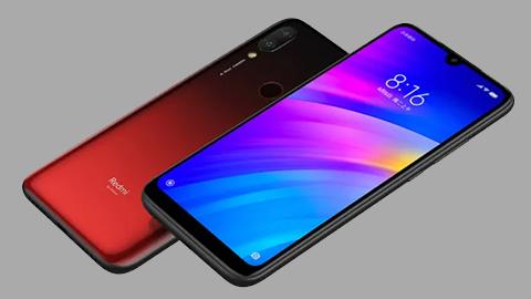 Xiaomi Redmi 7 chính hãng với Snapdragon 632, pin 4000mAh tại VN, giá chỉ 2,8 triệu