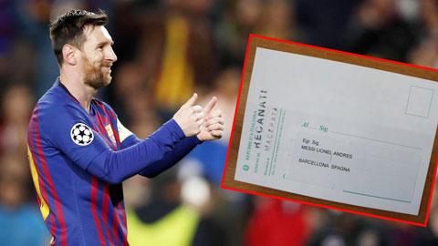 Messi được mời đi bầu cử ở… Italia