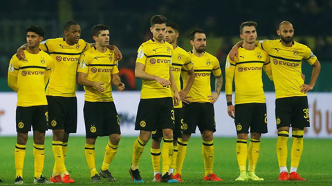 Đừng khóc cho Dortmund