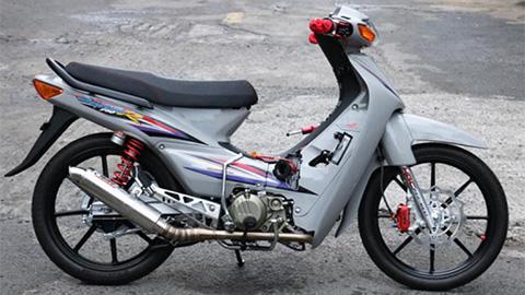 Honda Wave độ động cơ lên tới 190cc 'siêu chất'