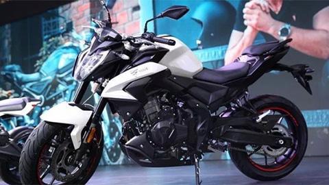 Mô tô đẹp như Honda CB500 series, động cơ 470cc, giá rẻ 'giật mình'