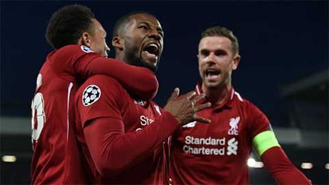 Những con số biết nói đằng sau chiến thắng của Liverpool