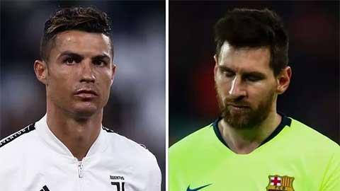 Ronaldo và Messi lần đầu vắng mặt ở chung kết Champions League sau 5 năm