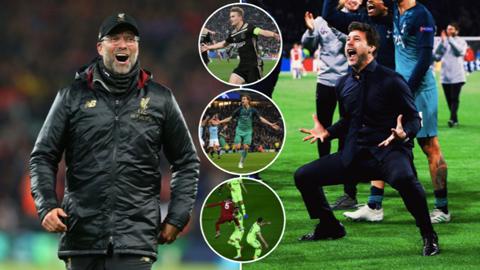 Champions League 2018/19: Mùa giải của những màn lội ngược dòng