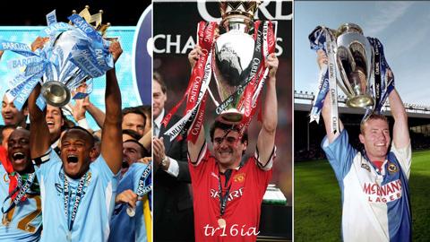 7 lần chức vô địch Premier League được quyết định vào ngày cuối