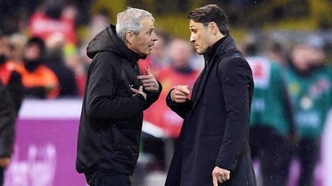 Kovac và Favre: Tình cũ... không rủ cũng tới