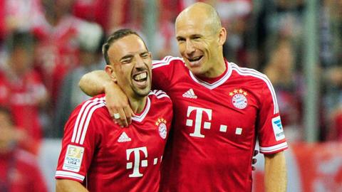 Ribery & Robben': Bayern là gia đình của chúng tôi'
