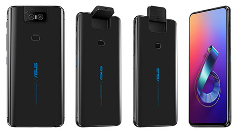 Asus ZenFone 6 ra mắt với camera xoay lật, Snapdragon 855, pin 5000mAh, giá rẻ bất ngờ