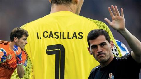 Thủ thành Casillas tuyên bố giải nghệ